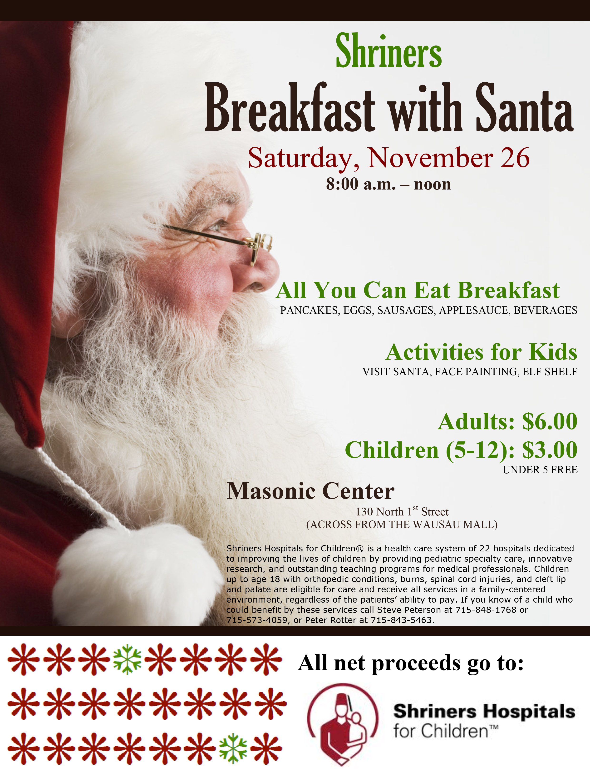 Microsoft Word - Breakfast with Santa Poster 2016.doc